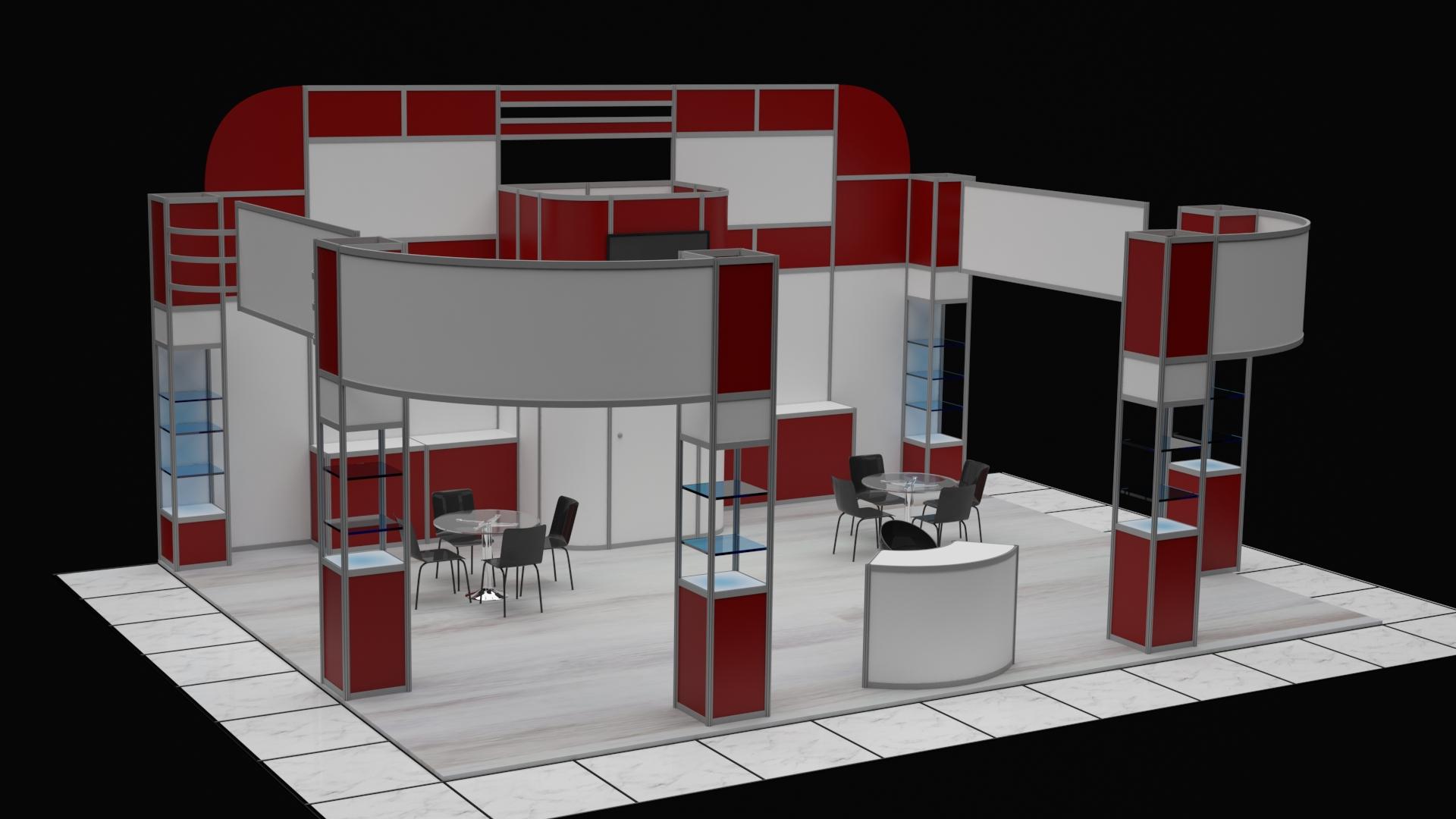 fuar stand tasarım hizmetleri satılık